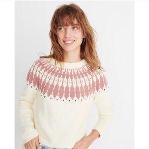 Madewell   Fair Isle Keaton Sweater